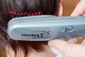 Аппарат для лазерной терапии волос головы