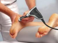 Лечение пяточной шпоры ультразвуком