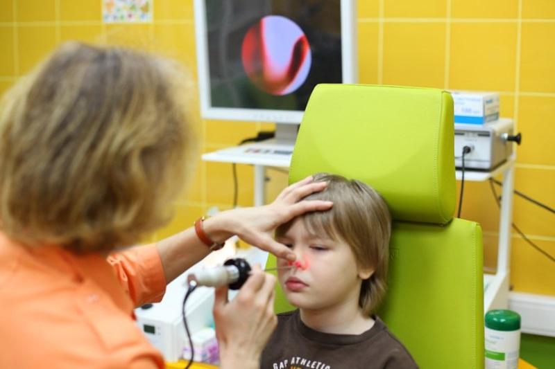 Процедура лазерной терапии при аденоидах