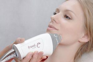 Фраксель лазерная терапия кожи лица