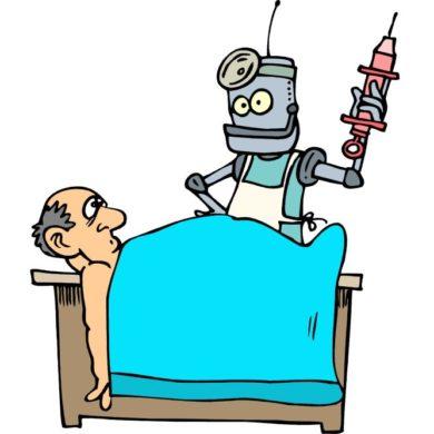 Современная акупунктура: лазер вместо иглы, робот вместо доктора?