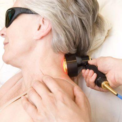Лазеротерапия при остеохондрозе шейного отдела позвоночника